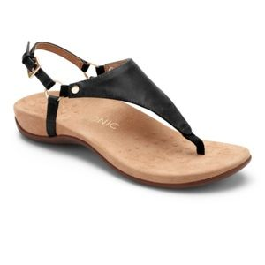 Vionic Kirra Black Sandal